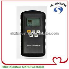 portable digital X, Y and hard B-ray radiation alarm detector