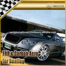 For Bentley Continental GT ASI Style Fiber Glass Carbon Fiber Front Bumper