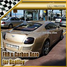 For Bentley Continental GT ASI Style Fiber Glass Carbon Fiber Rear Bumper