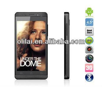 "JIAYU G3T G3 MTK6589T Quad Core Smartphone Android 4.2 4.5"" IPS Screen 1GB RAM 4GB two Camera 8.0MP WCDMA 3G WIFI dual Sim"