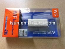 Unlocked, W5, USB wifi dongle media player ZTE W5 Mini Wireless Router