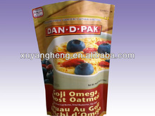 Food palstic packings,Stand up pouches with zipper,Color printing food bags