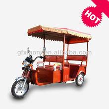 China 3 passenger bajaj three wheeler auto rickshaw/battery tricycle for passenger price