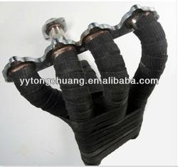 black ceramic fiber insulation wrap for car/motocyle exhuast header