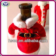 China Manufaturer Mini Costume Christmas Wine Bottle Clothes