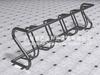 Sanding-zinc-spraying-powder coating bike carrier rack/bike carrier/bike rack