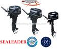 2013 nueva llegada de la alta calidad de motor fuera de borda motor de 2 tiempos 5hp motor fuera de borda chino de pesca de aluminio barco de motor