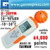 Handheld VOC Meter 64K Memory Datalogger Relative Humidity RH Ethanol Amonia Toluene Data Logger Taiwan Made