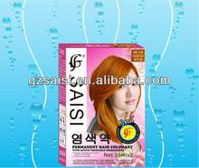 Professional Good Smell Hair Dye & Cover Grey Hair Prodcut& Permanent Black Henna Hair Dye