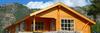 log cabin 140 sqm log home - low carbon foot print