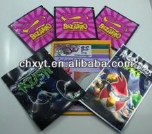 hot sales new design plastic zipper aroma scent sachet bag air freshener