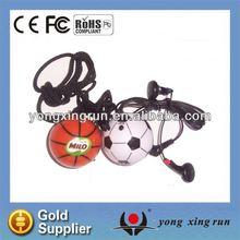 Football Basketball headphones with built in fm radio