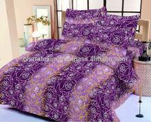 Cotton Bedsheet with Radium Printing