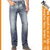 Haoyu men's Stright leg jeans used denim men wholesale cheap jeans washing plant(HYM868)