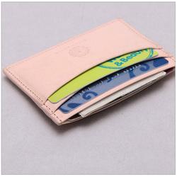 Fashion design Business Card Hoder Leather Wallet