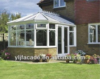 aluminium glass sunroom for solarium