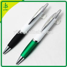 JD-C774 hot-selling custom logo rubber grip plastic ball pen