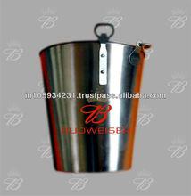 Plain Buckets in Stainless Steel