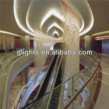 hotel fiber optic pendant light Modern,indoor decoration,Fiber Optic lighting Chandeliers