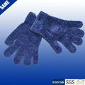 şönil örme peluş kış çocuklar için sihirli eldiven