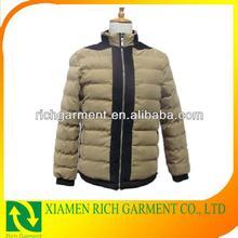 2014 factory price wholesale men's fashion cotton coat