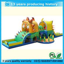 giant15 amusement park inflatable lion king