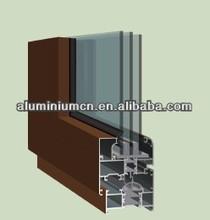 triple glazed heat-insulation aluminium sliding windows