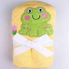 kids poncho hooded towel terry towel poncho printed beach towel