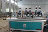 5 heads hinge boring machine multiple drilling machine