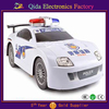 plastic handsome police car model