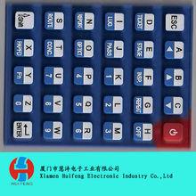 cheap customized silicon keypad