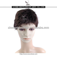 lady's fashion heat resistant short braid synthetic wig