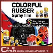 400ml acrylic DIY rubber paint car spray paint colors