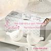 White Ceramic Lovebird Salt and Pepper Shakers Wedding Favors