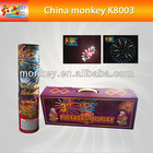 3 inch professional display shells with box fireworks for christmas for sale (K8003)