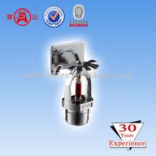 sidewall fire sprinkler nozzle fire water sprinkler system