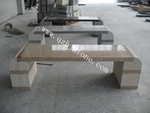natural stone garden/park/outdoor granite bench