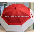 brillante de color de publicidad grande con paraguas sección 2 y con protección uv