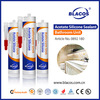 Anti Mildew Certificated Non Yellowing 100% Silicone Based Flexible Tile Adhesive