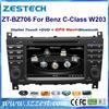 ZESTECH DVD player Radio headunit for Mercedes Benz C-Class W203 CLK W209 W467 GPS navigation