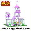 COGO Blocks Toys Girl Series Solid Plastic Blocks