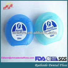 dental oral hygiene product 50m nylon dental floss tape