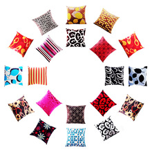 Colorful OEM Design Back Cushion Decorative Throw Pillow Case