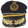 marca capitão marinheiro chapéus tampa