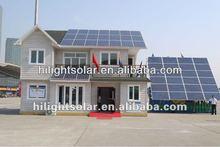 185W best price per watt solar panel