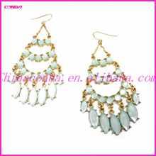 diamond graceful European and American big drop earring