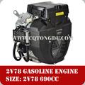 с воздушным охлаждением двойной цилиндр 678cc автомобильного бензина 20hp у близнецов 2 цилиндровым двигателем