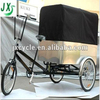 electric cargo trike with pedal