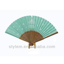 Chinese fabric hand fan gift folding fan