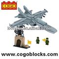 cogo militar da série de bloqueio de plástico de brinquedo para crianças